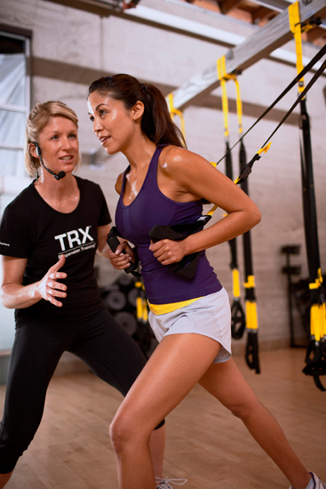 Entrenamiento en Suspension o TRX
