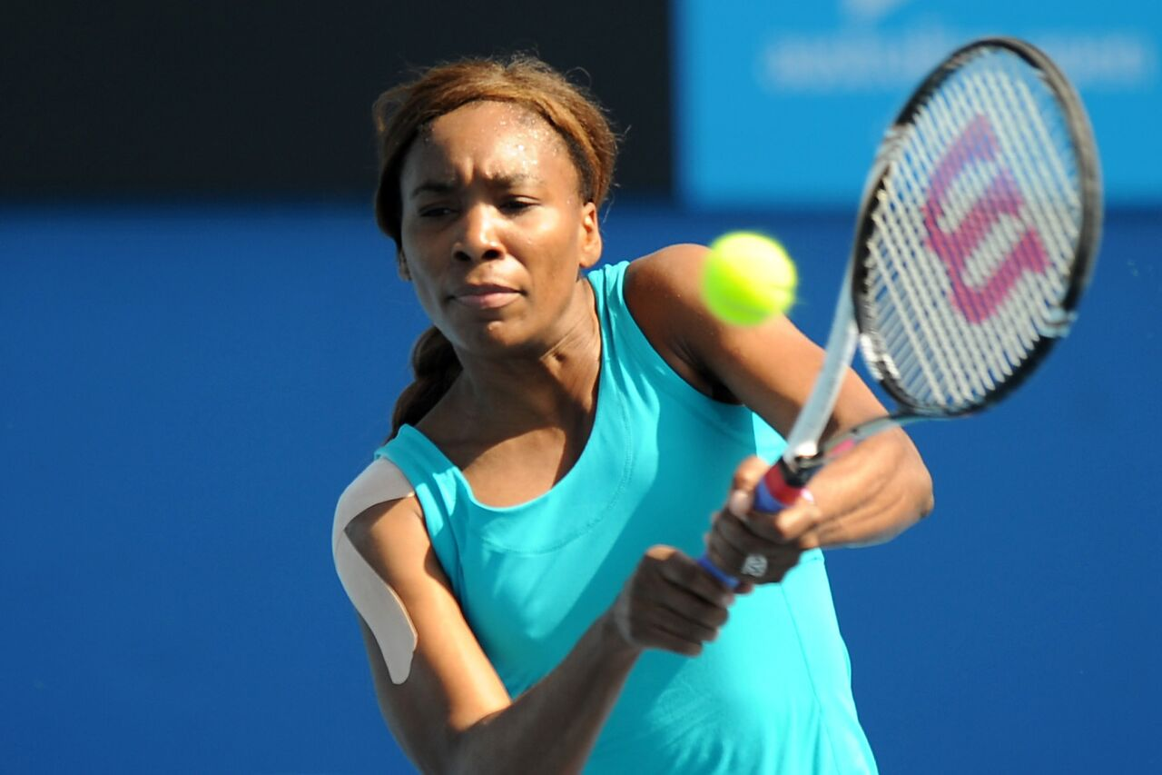 Venus Williams en el Australian Open